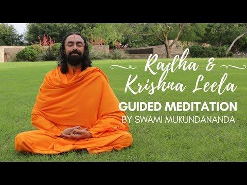 Guided Meditation on Radha Krishna Jhulan Leela by Swami Mukundananda