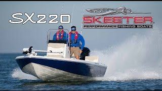 Skeeter Bay Boat SX220 Center Console Saltwater Fishing Boat