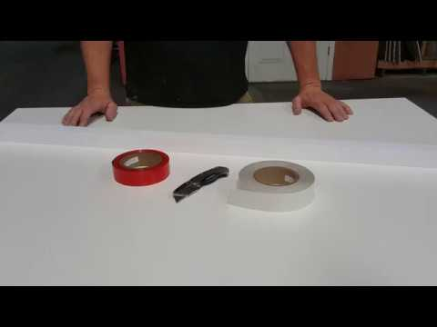 Concrete Casting Foam Rails and Tapes for Making Concrete Countertops