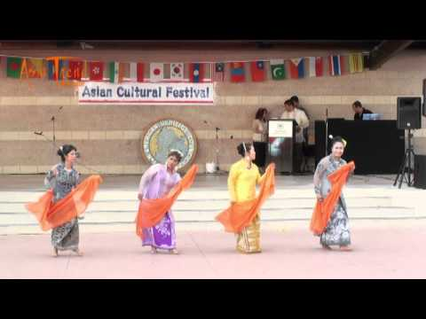 Indonesian Dance - Asian Cultural Festival 2012
