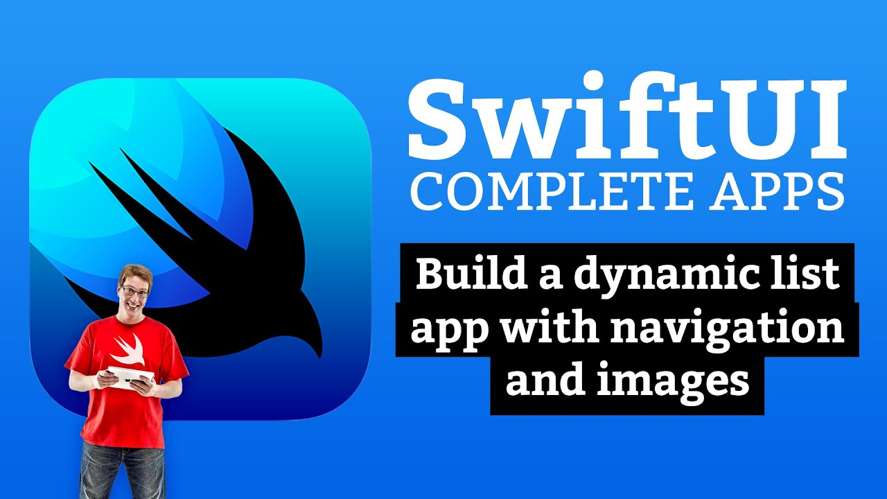 Learn SwiftUI with free tutorials – Hacking with Swift