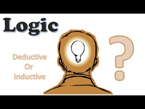 "Logic  (Critical Thinking)  ""Inductive and Deductive Reasoning""....4"