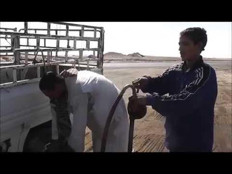 Petrol Station in the Sahara