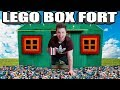 ULTIMATE LEGO BOX FORT!! 📦🖼 Minecraft Lego, Building & More!