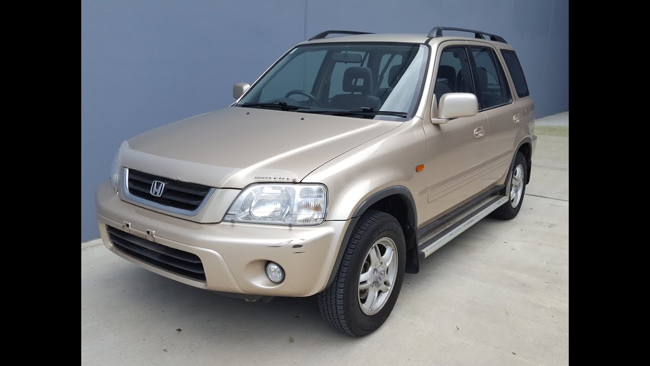 Sold honda crv 4x4 suv for sale 2001 review youtube for Is a honda crv a suv