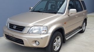 (SOLD) Honda CRV 4x4 SUV for sale 2001 review