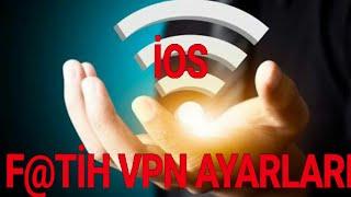 F@TİH İPHONE (İOS) DA ÇALIŞAN VPN 2018  ANDROİDLER İÇİN GÜNCEL X-VPN