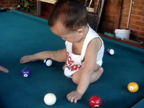 My Beautiful Nephew Gierado Giving Birth To Pool Balls Youtube