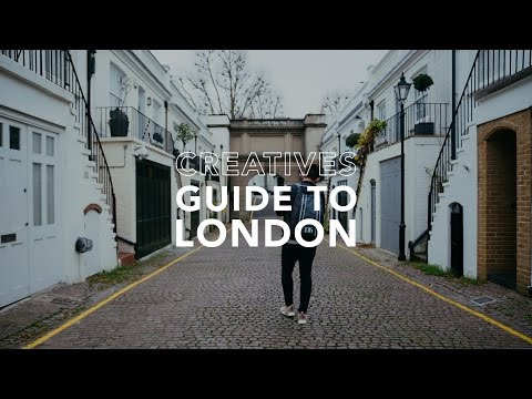 BEST PLACES FOR INSTAGRAM PHOTOS IN NOTTING HILL LONDON // Creatives Guide To London Ep.01