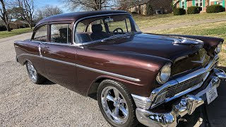 """SOLD"" 1956 Chevy Bel Air $32,900 Maple Motors"