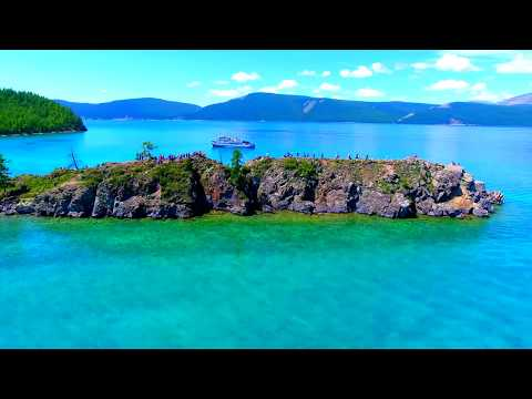 Phantom4 4K video Huvsgul Lake in MONGOLIA