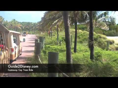 Disney Cruises Castaway Cay Tram Ride