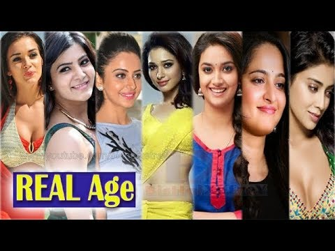 Real Age Of South Indian Actresses 2017-18