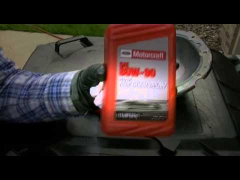 2006 Ford F150 Front Differential Fluid Change