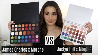 James Charles x Morphe VS Jaclyn Hill x Morphe