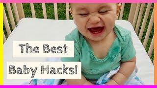 Life Changing Baby Hacks For Parents - Baby Tips and Tricks