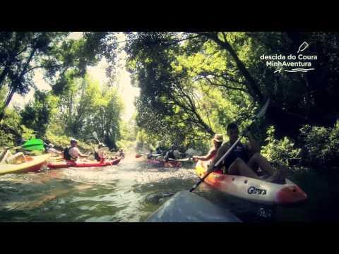 Descida do Coura em Kayak