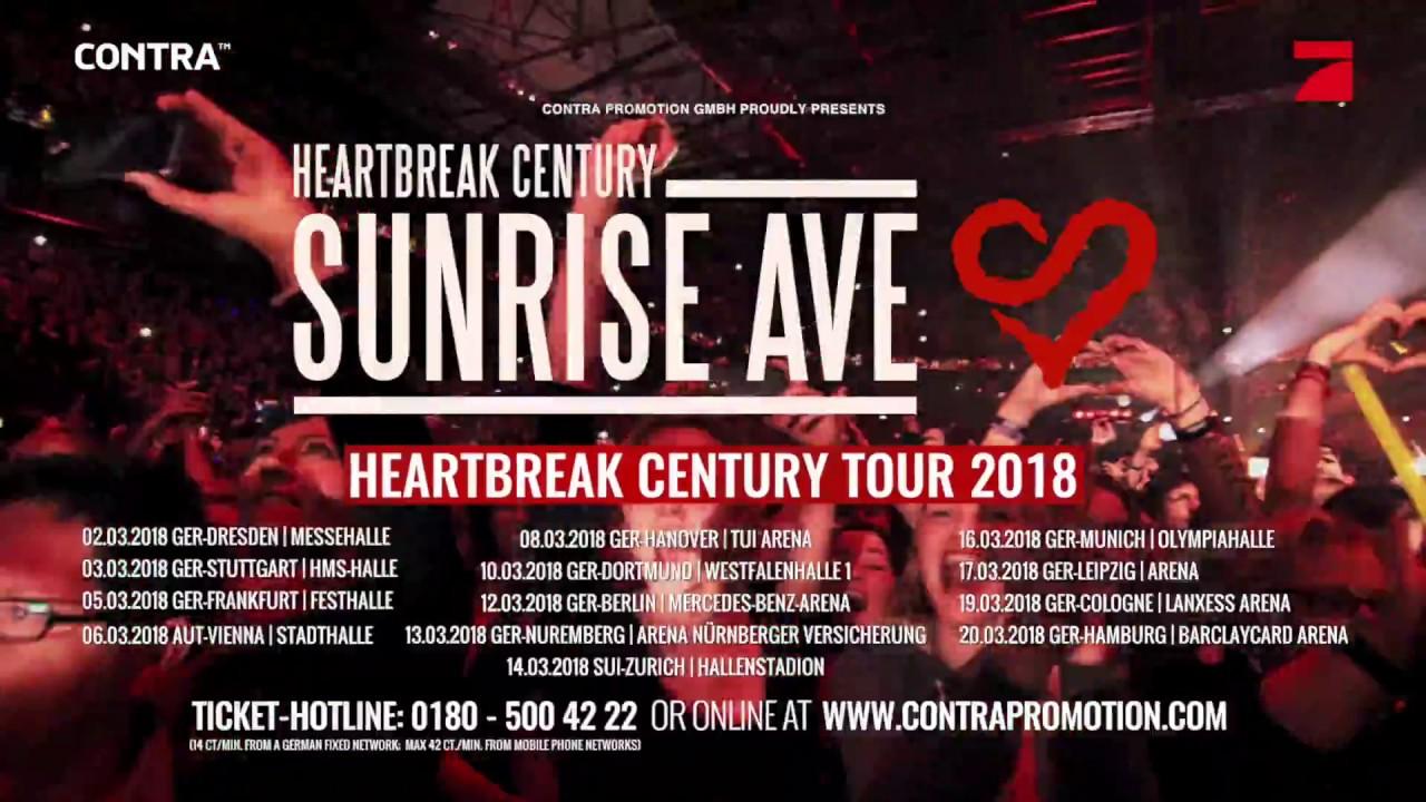 sunrise avenue 2018 tour trailer youtube. Black Bedroom Furniture Sets. Home Design Ideas