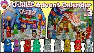 Marvel & DC Comics Ooshies Advent Calendar - Part 3 - Christmas 2017 - Clear Golden Silver Sparkle