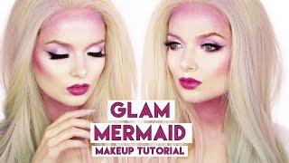 Easy Glam Mermaid Makeup Tutorial // Halloween Makeup // MyPaleSkin