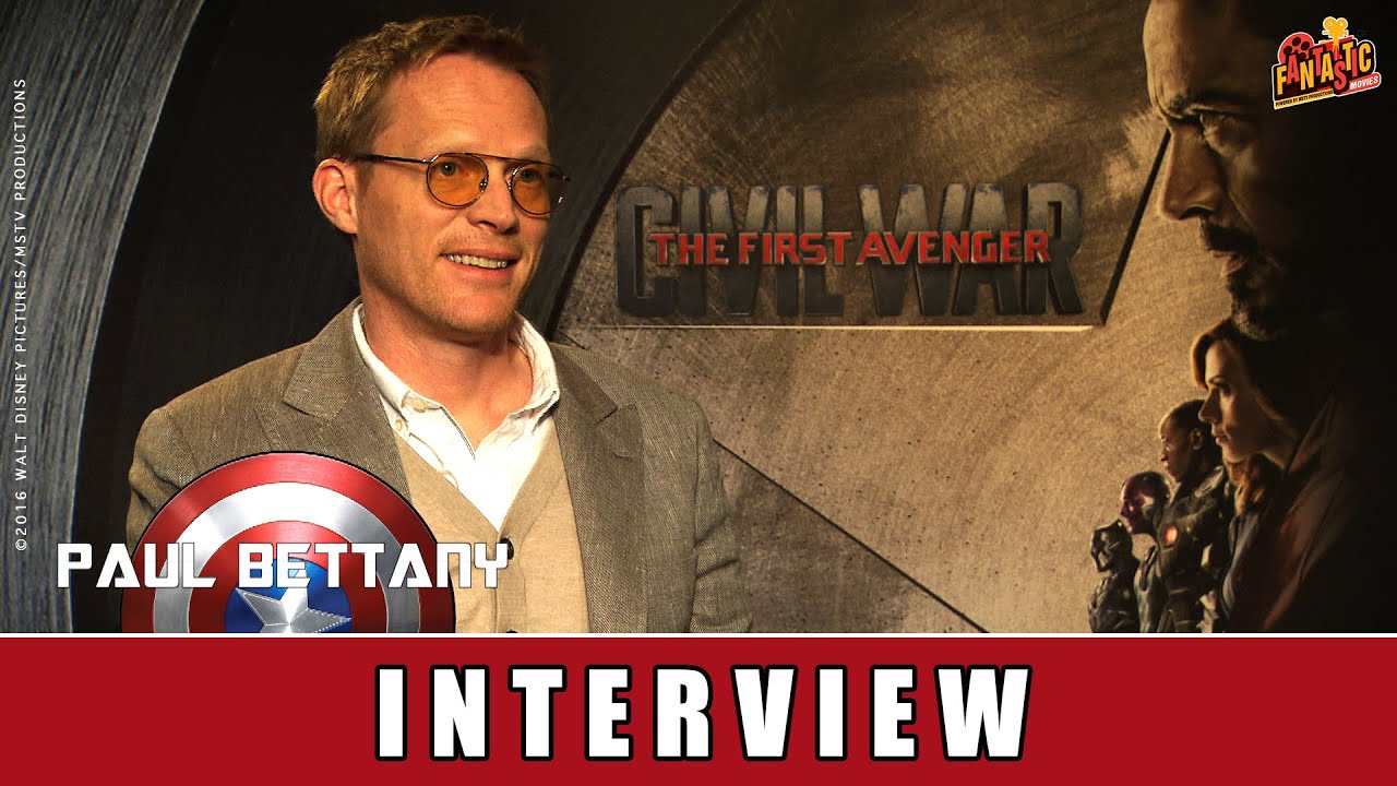 The First Avenger: Civil War - Interview | Paul Bettany