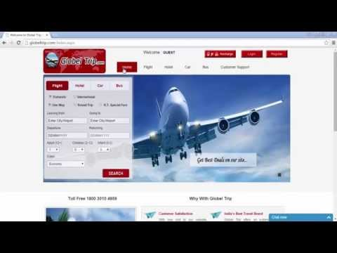 How to Book International Flight Tickets Online - Globel Trips
