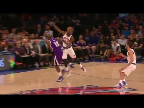 Darren Collison Beats the Shot Clock with a Bank Three!