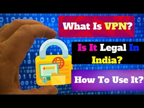 Are vpns legal in india