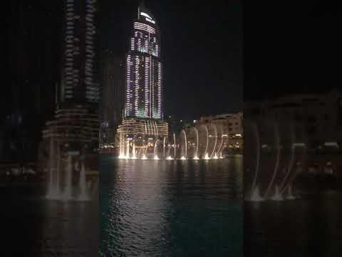 Dubai Fountain Show 2019!