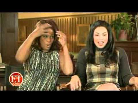 WHITNEY HOUSTON + JORDIN SPARKS-SPARKLE ET INTERVIEW