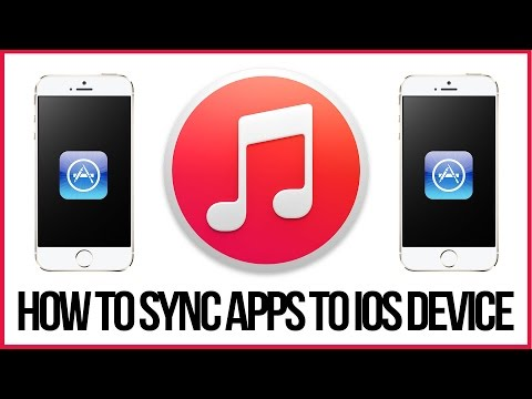 Itunes 12 Tutorial - How To Sync Apps To Your IPhone, IPad Or IPod
