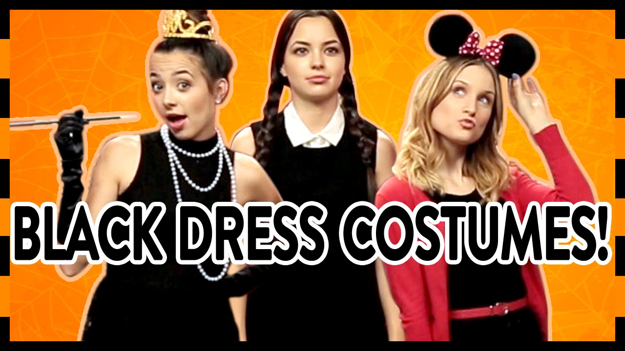 16 Easy Halloween Costumes With A Little Black Dress!