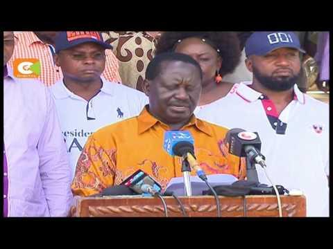 Odinga raises questions over Kenya-Dubai port 'deal'
