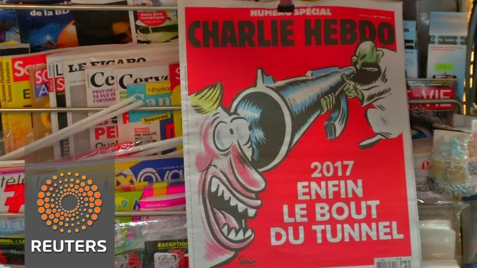 Charlie Hebdo marks 2nd anniversary of attacks