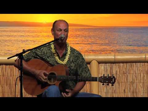 """Kahoolawe"" @SlackKeyShow Jerry Santos plays at Maui"