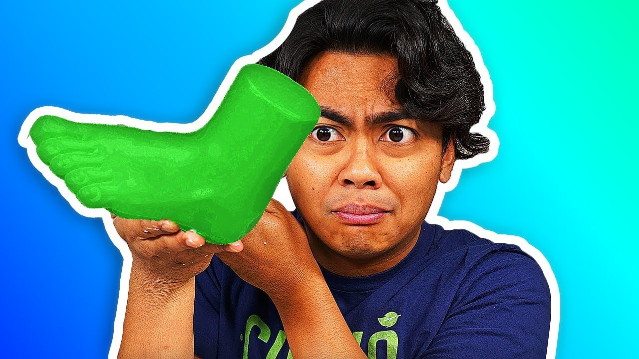 How To Turn Your Foot into Gummy Candy!