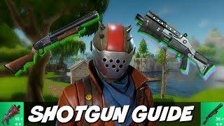 Fortnite Shotgun Tips | How To Win Shotgun Battles!