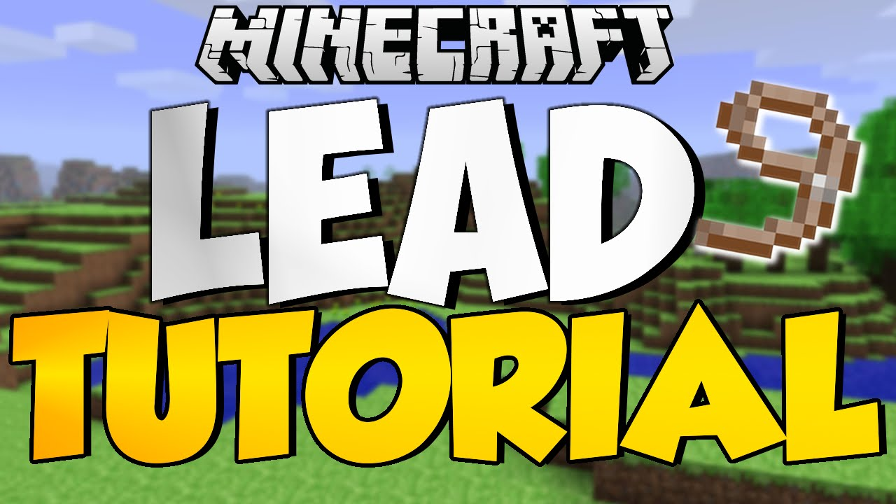 Minecraft TU223 Tutorial How To Make Leads Xbox One, Xbox 223, PS223, Ps23, Ps  Vita Update 223 Horses