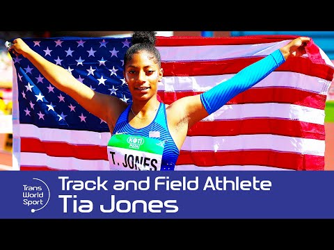 Tia Jones | 15-year-old US Track & Field Sensation on Trans World Sport