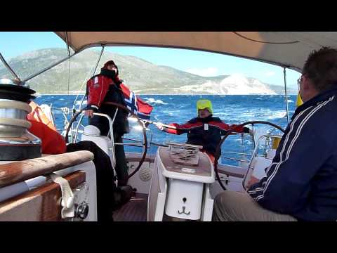 S/Y Nanna Gulf of Corinth