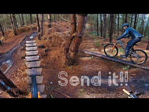 BIKE PARK CANNOCK - INSANE Off-Piste Trails