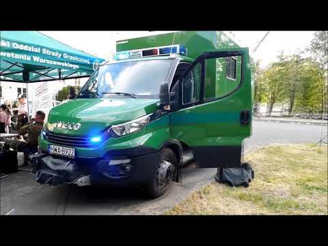Alarmowo - Ambulans Pirotechniczny Iveco Daily  - Nadwiślański Oddział Straży Granicznej