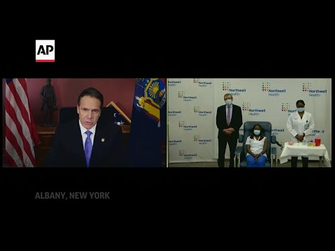 Associated Press: Cuomo: Vaccine is light at end of a 'long tunnel'