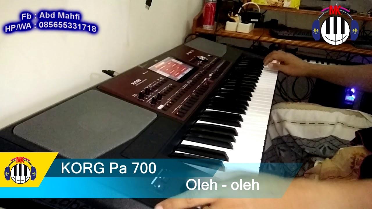 Sampling KORG pa 700 Oleh-oleh - YouTube