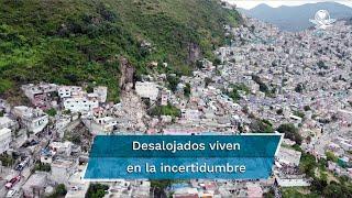 De 110 casas evacuadas, 11 serán demolidas al ser inhabitables, indica gobierno de Tlalnepantla