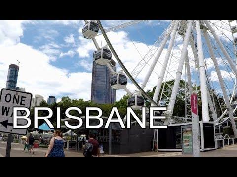 Brisbane, Australia   Street Walk
