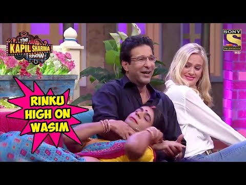 Rinku Devi Goes Gaga Over Wasim Akram – The Kapil Sharma Show