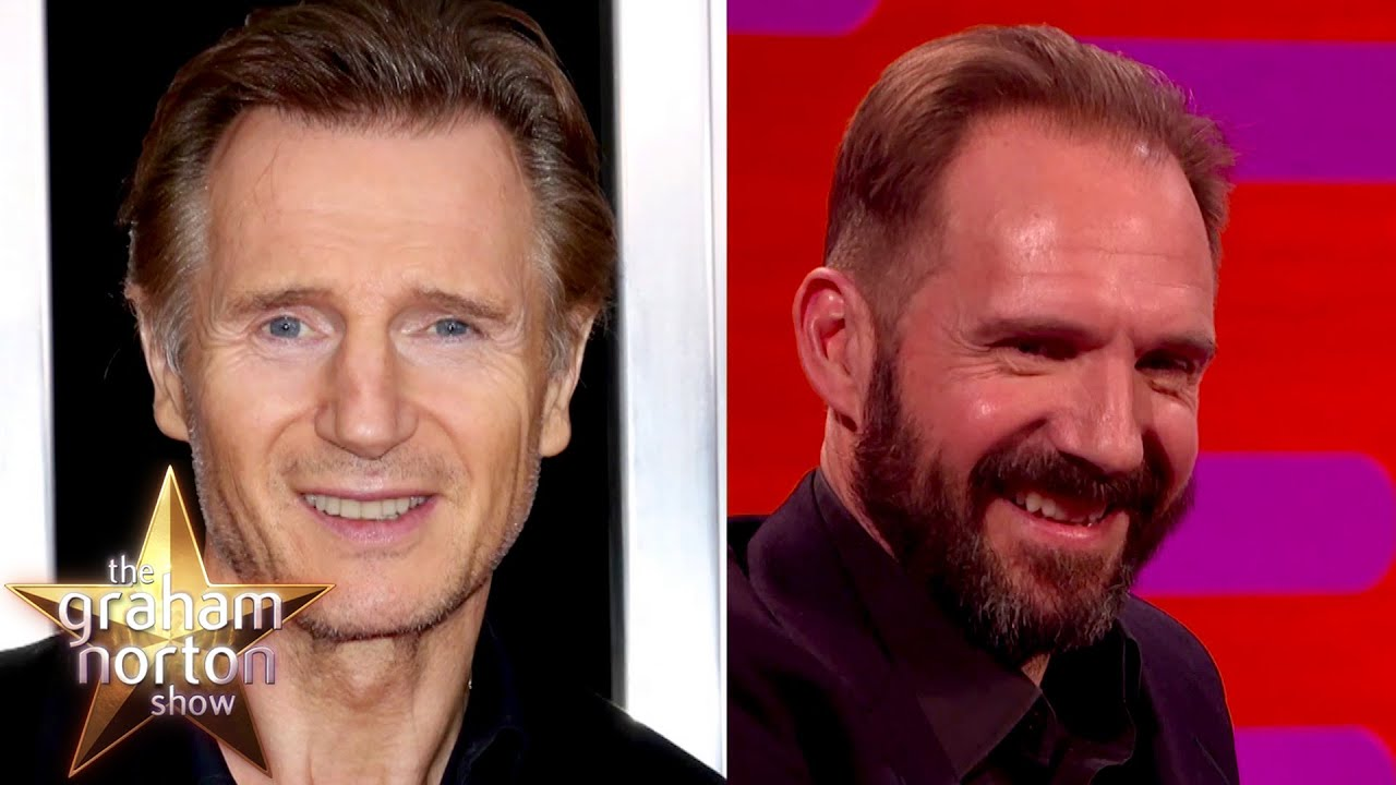 Ralph Fiennes Gets Confused With Liam Neeson | The Graham Norton Show