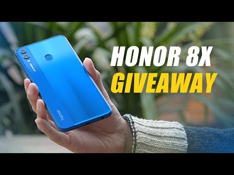 Honor 8X Review and Giveaway by Pandaily!