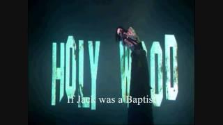 Marilyn Manson Cruci-Fiction In Space Lyrics